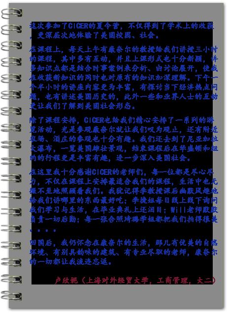 卢欣妮(  上海对外经贸大学)