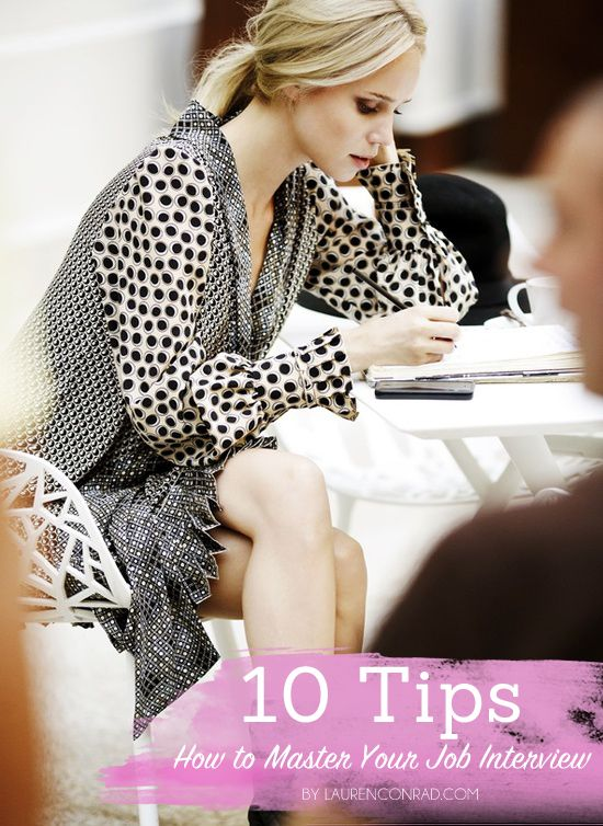 10 Tips on How to Master Your Job Interview