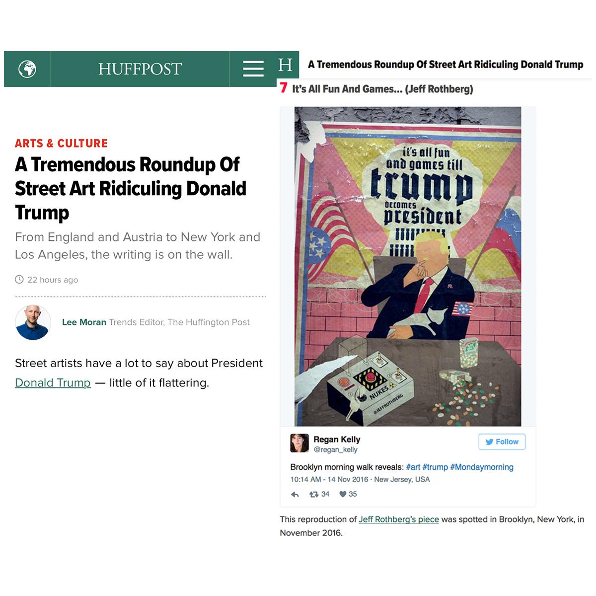 Jeff Rothberg Huffington Post Feature (1/27/17)