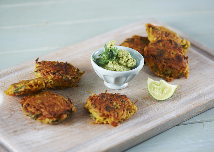 Sweet Potato Bhajis