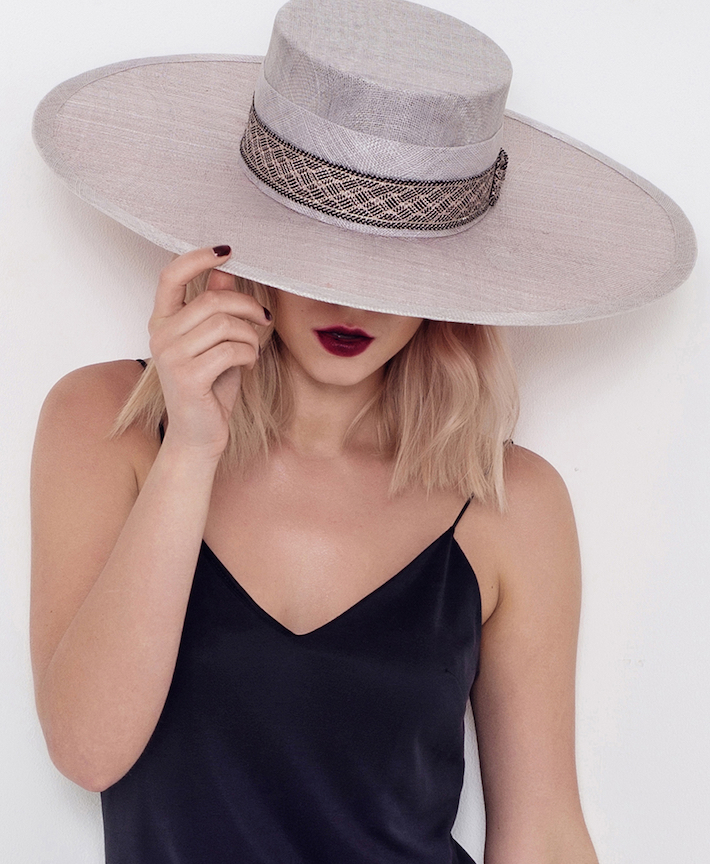 Image by Simon Wisbey for FAO Millinery, Model: Betty Jacobsson