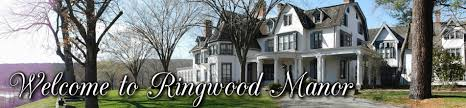 Ringwood Manor is a National Historic Landmark District, having historical importance spanning from Native American occupation through the early 20th century. The surrounding Ramapo Mountains' rich magnetite iron deposits made the area a major iron supplier and became the home to a succession of ironmasters for over two hundred years. During the Gilded Age, Ringwood Manor became a large summer estate for partners Peter Cooper and Abram S. Hewitt and their families.In 1938, the house, its contents, and the surrounding property were donated by the family to the State of New Jersey as a museum and a state park. With original historical structures, gardens, and landscapes on 582 acres and extensive historical collections illustrative of family life, community, industry and culture,Ringwood Manor is a unique repository of American history.  Today, Ringwood Manor is a central part of Ringwood State Park and administered by the NJ Department of Environmental Protection, Division of Parks and Forestry.    more information...     directions...