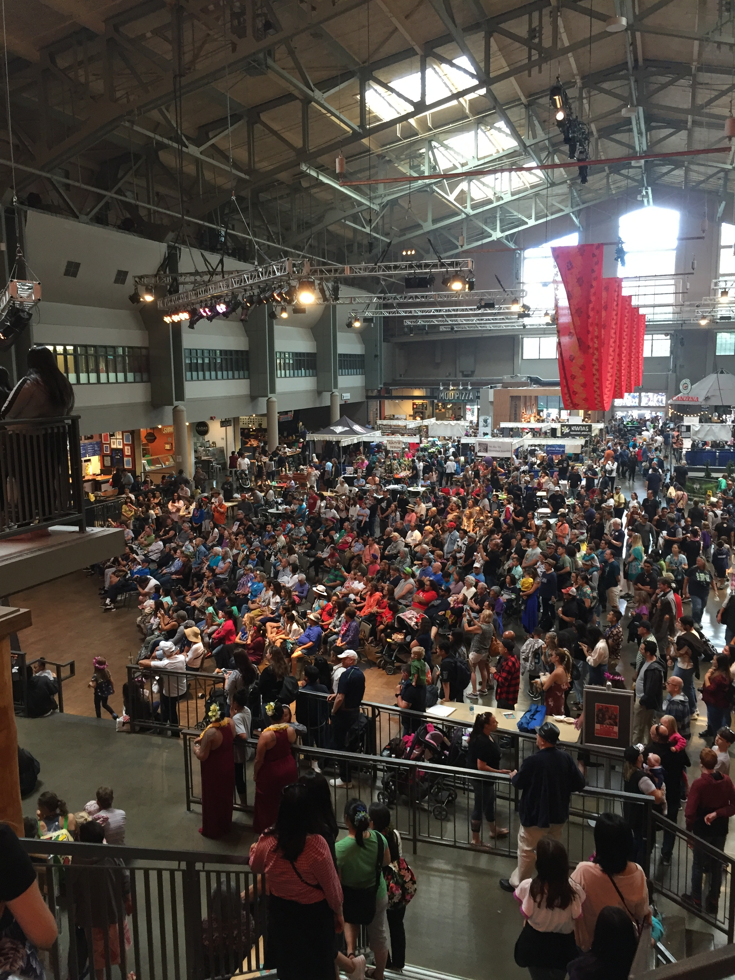 View of the Armory Stage 2018.