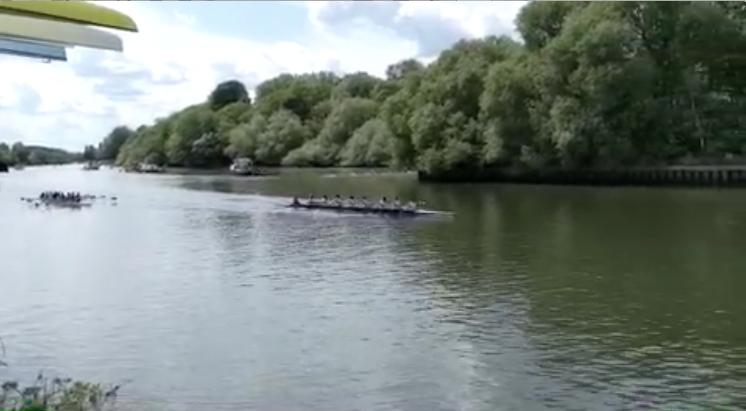 Second win against Warwick university - 2 lengths