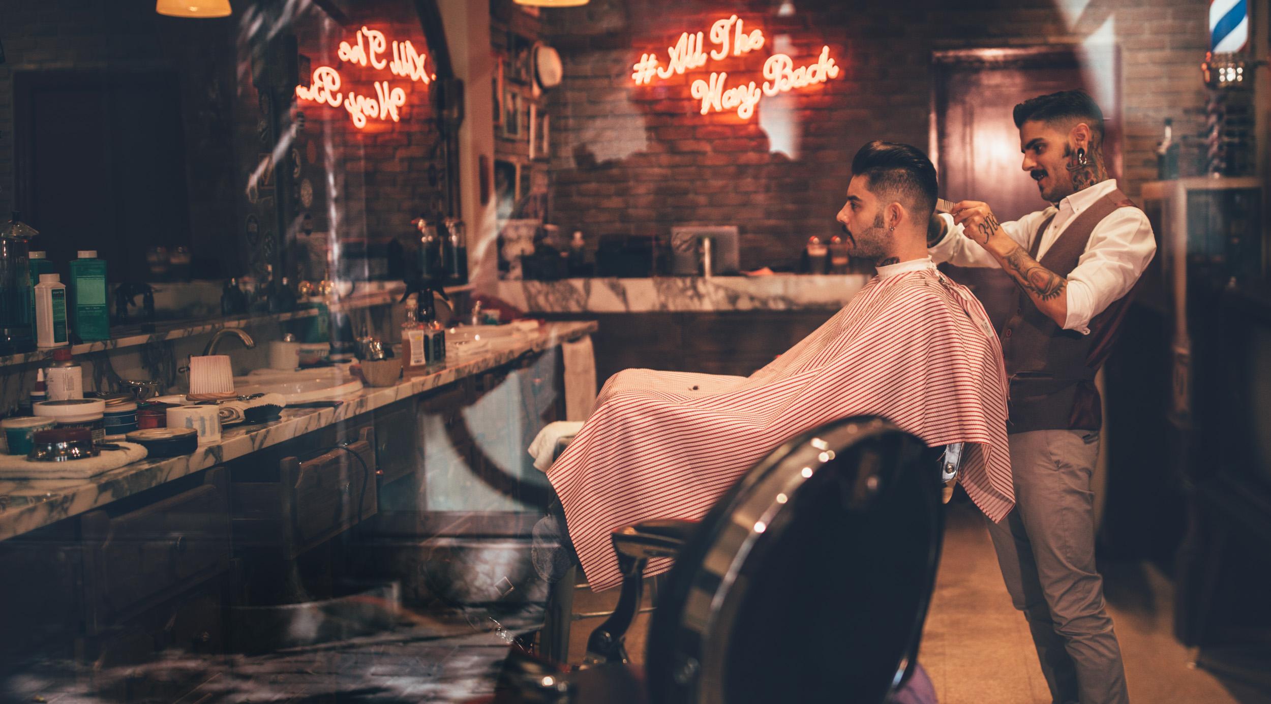The Dalton Brothers Barber Shop
