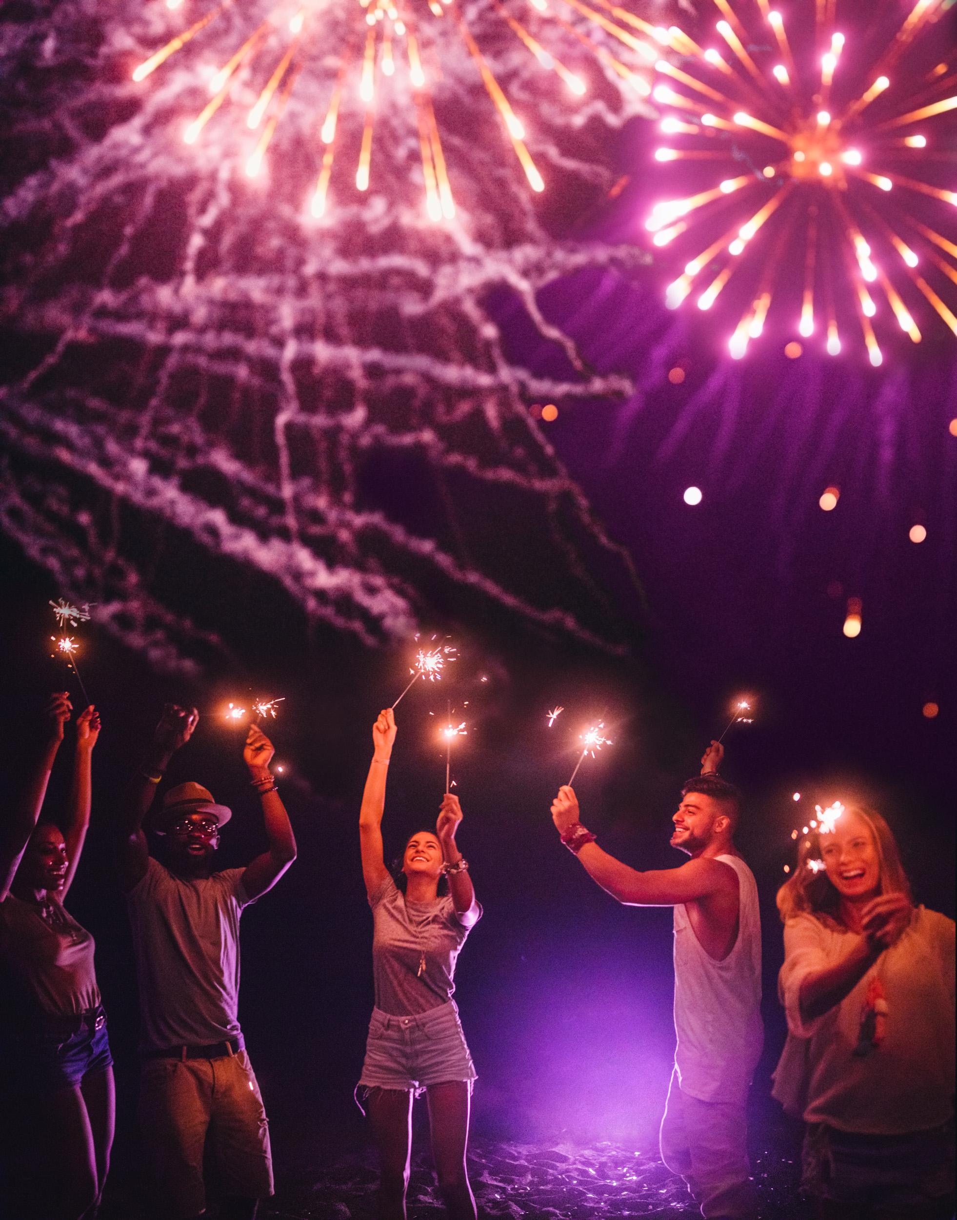 Pyrgos Fireworks