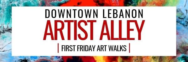 Artist Alley - Pop Up Art Fair - Seasonal Event/Weather Permitting