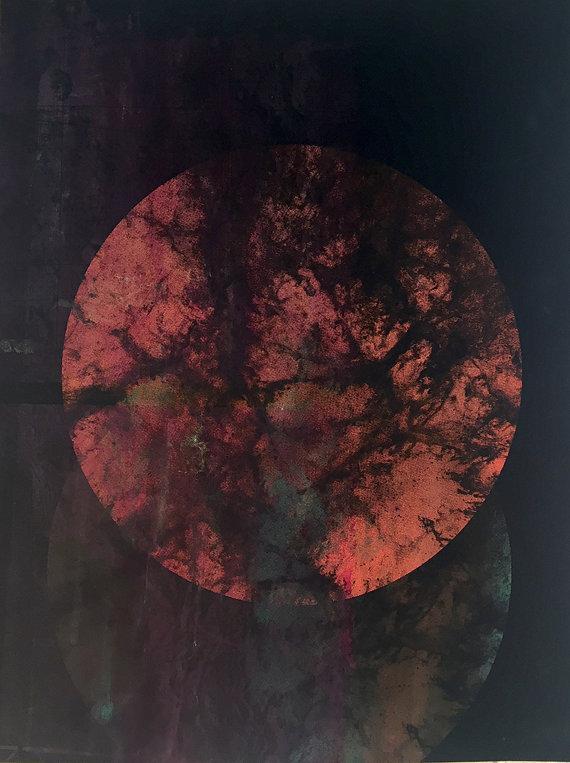 Dark Side, 25x15 inches, 2015.