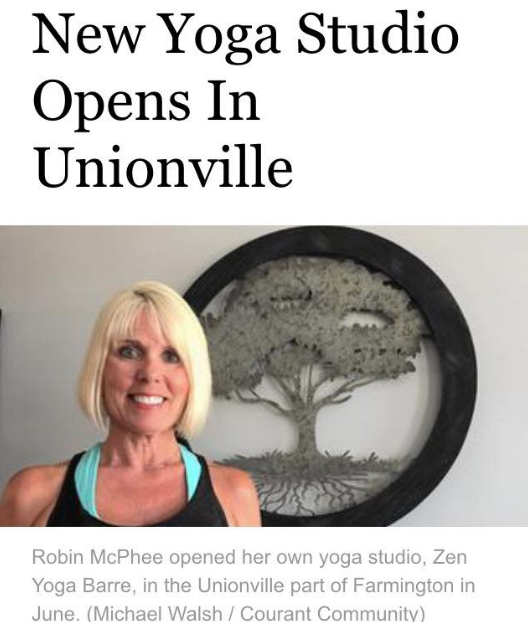 An exciting appearance in the Hartford Courant! Click to view full article and video!