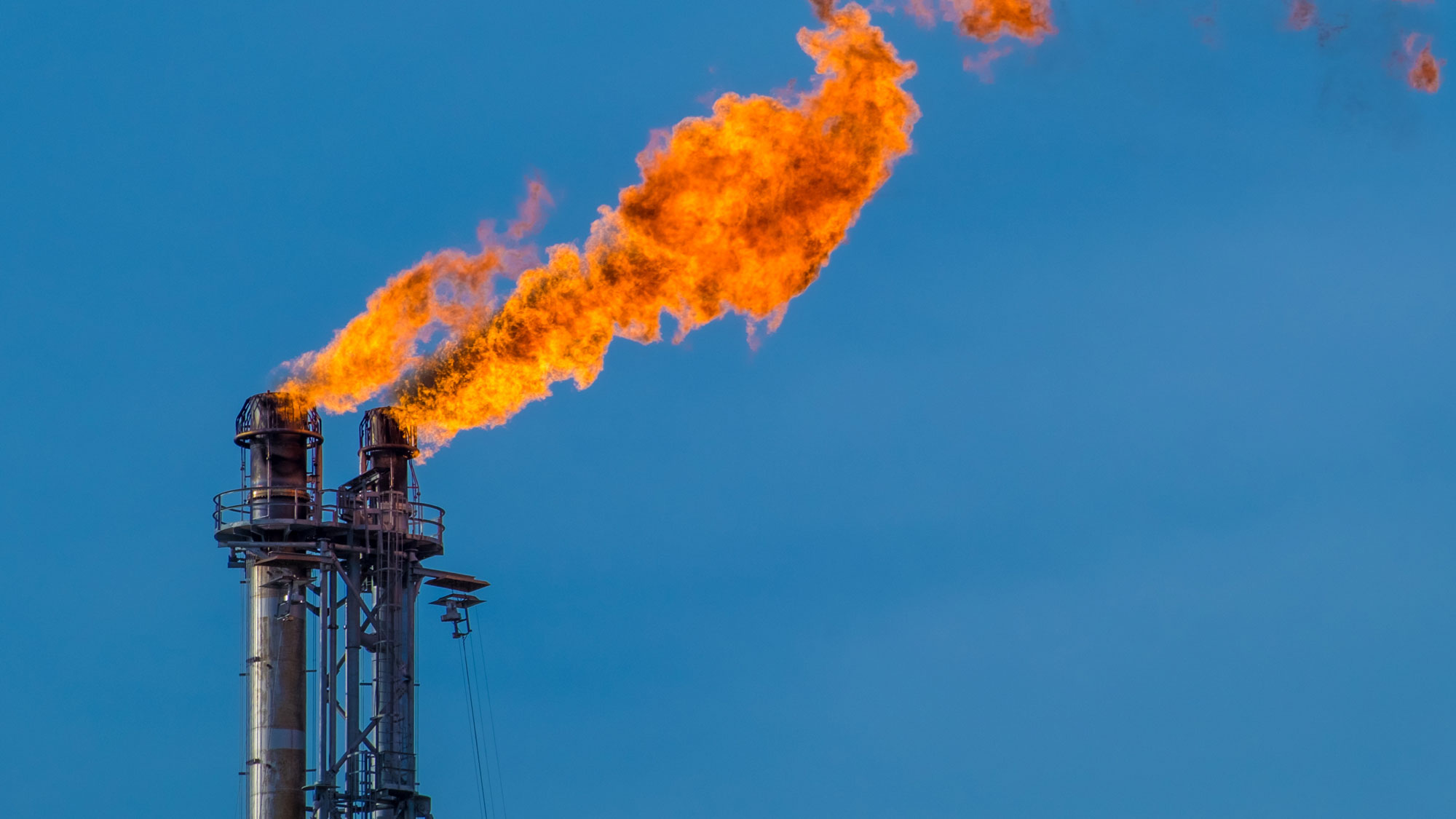 Flare Stack Monitoring with Thermal Imaging Cameras