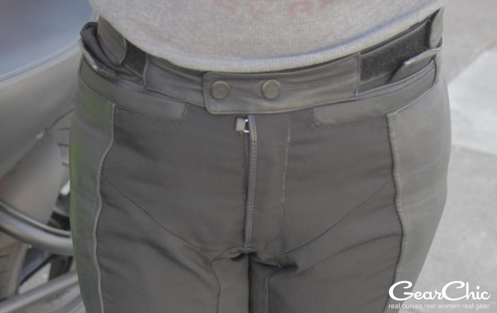 Gear 2 pants, front pockets; wearing size 38