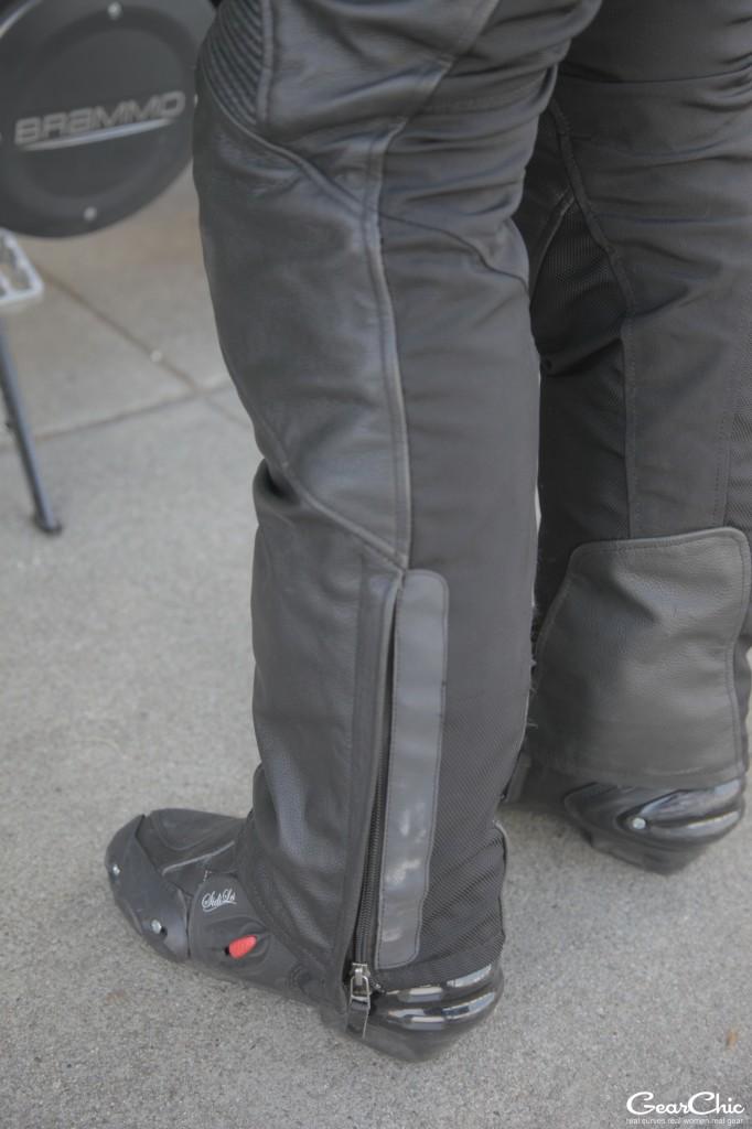Gear 2 pants, back leg; wearing Size 38