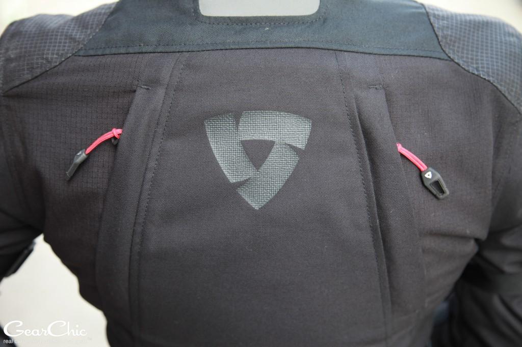 REVIT Legacy GTX Jacket - rear vents