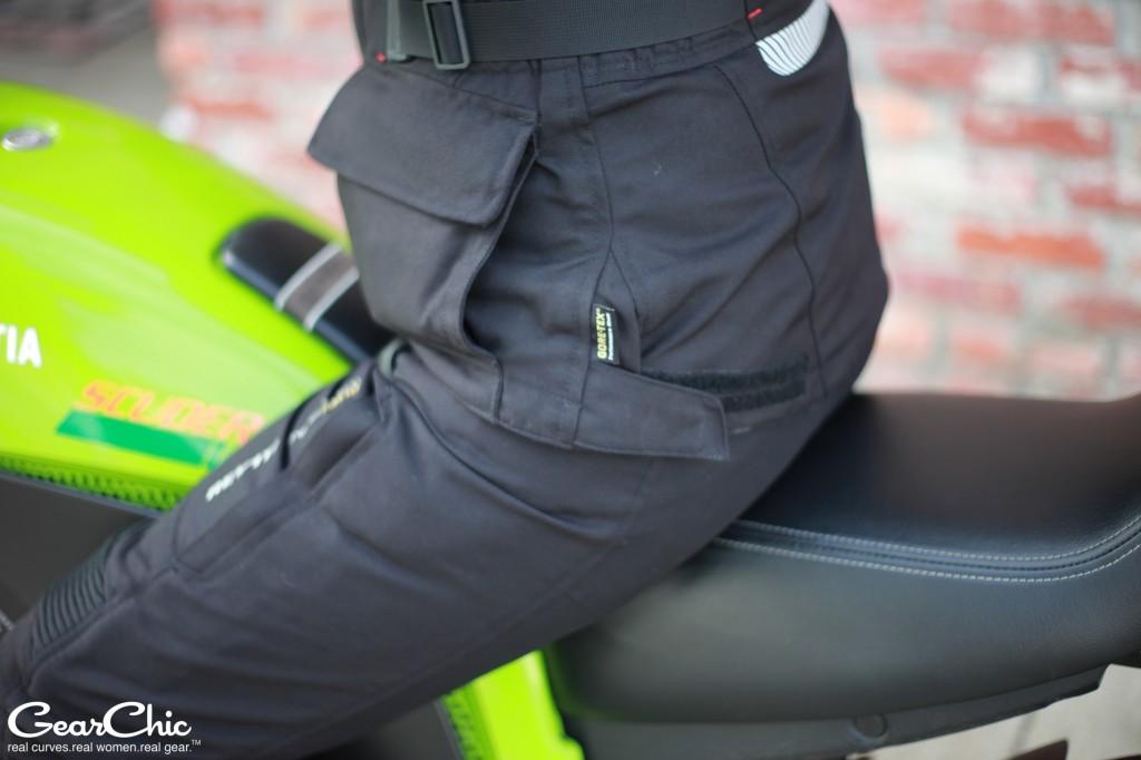 REVIT Legacy GTX jacket - hip adjustments, side pockets