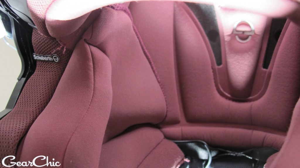 Schuberth C3Pro Women, cushiy lining and padding