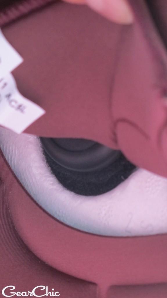 Schuberth SRC System for the C3 Pro Helmet speaker recess