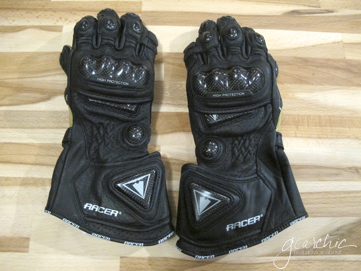 My brand spanking new pair of High Racer Gloves.