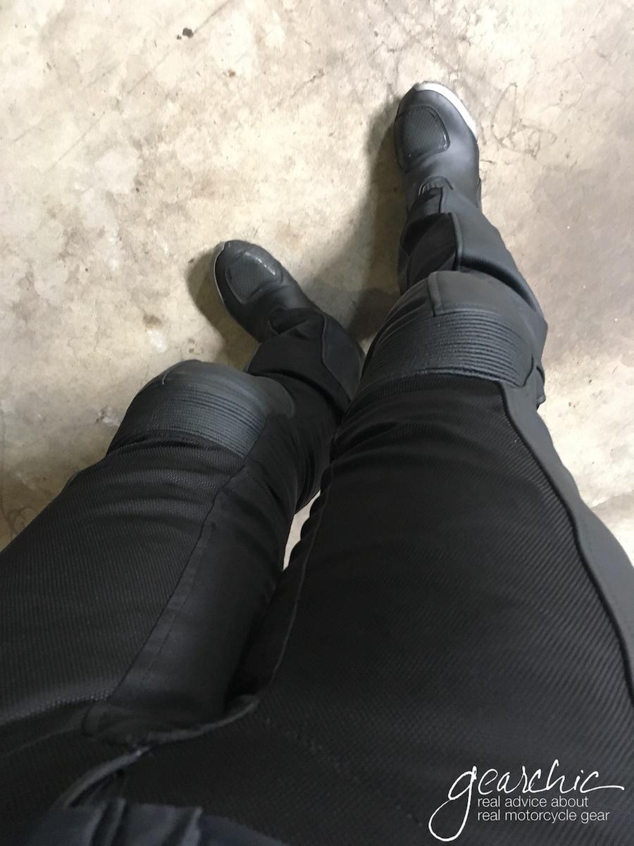Rev'it Gear 2 Leather Mesh Pants
