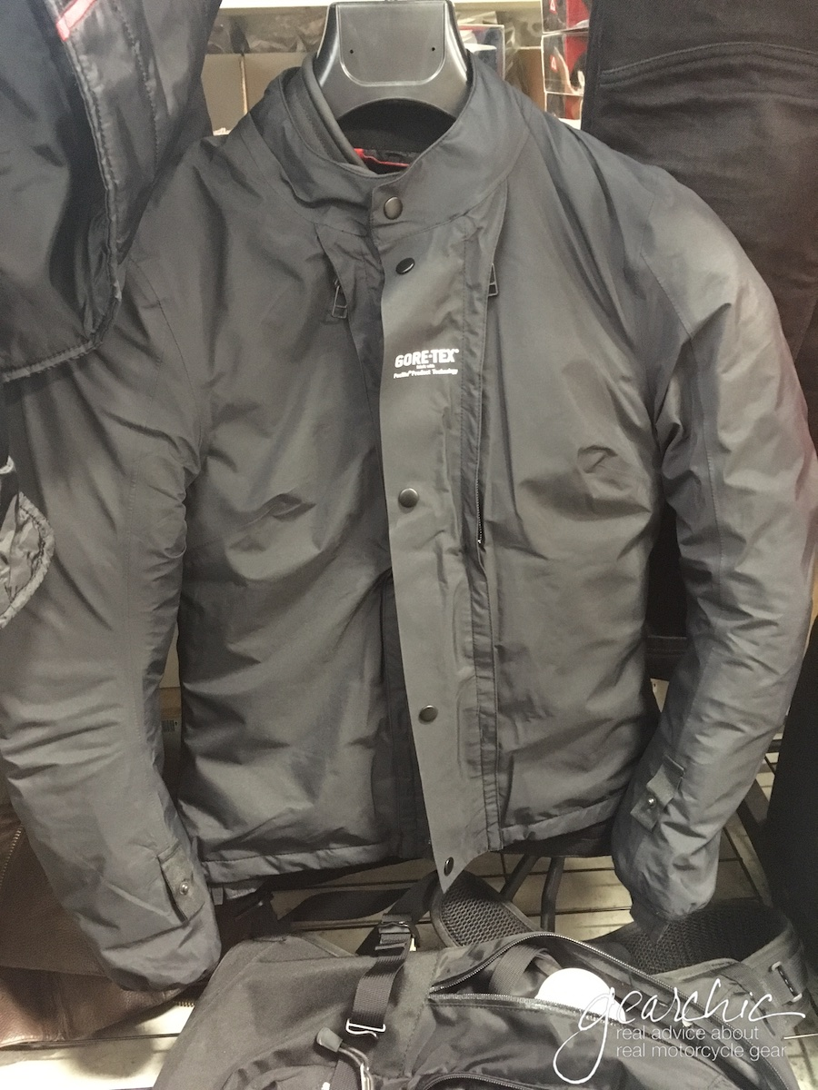 With the Gore-Tex liner OVER the jacket!