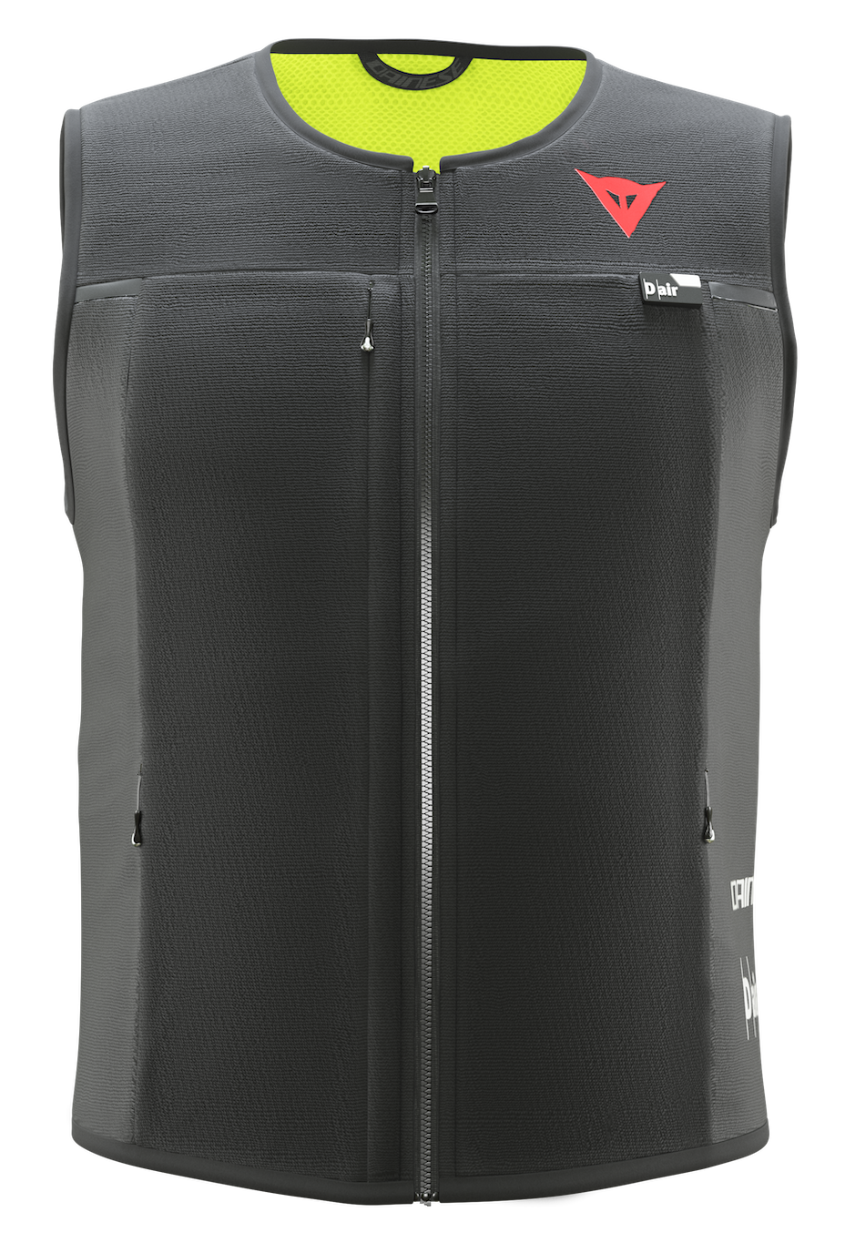 Full, standalone, wireless, mesh airbag vest