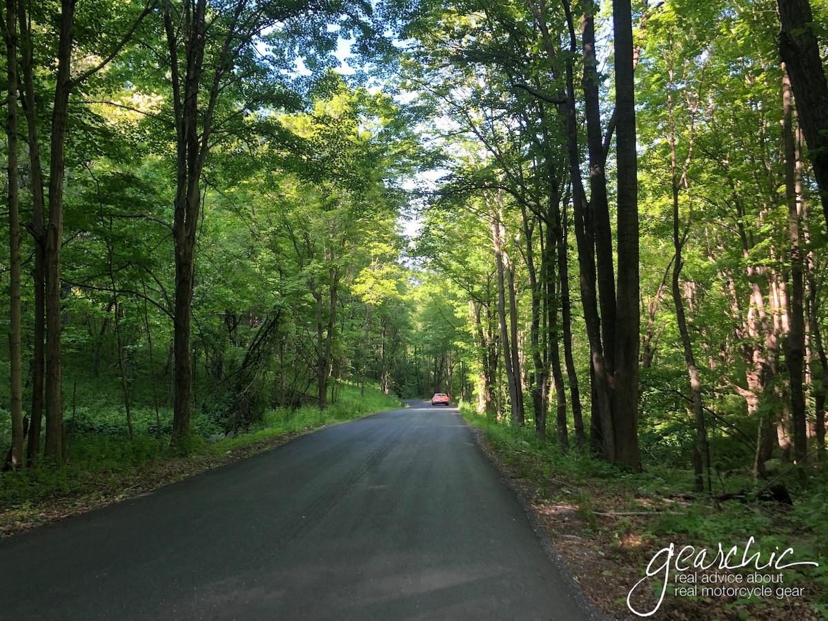 One of the many well paved roads I found in WVA.