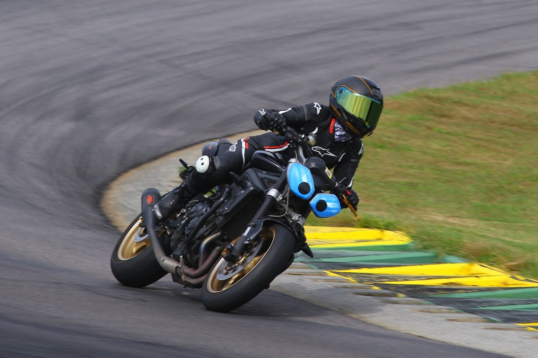 If I want to lean over on my motorcycle, how could it be any lower? I'm already so close to the ground. This is why you must be    so    careful about lowering a sportbike, doing it improperly will result in damage, or worse, injury because you're bottoming  out.