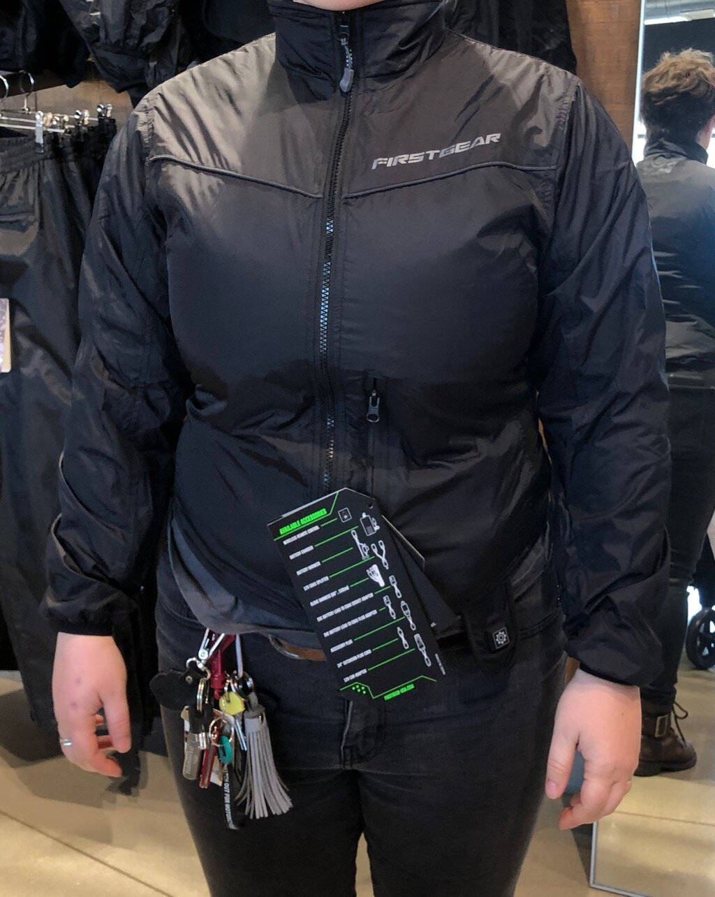 New Women's FirstGear Heated Jacket Liner for 2019/2020