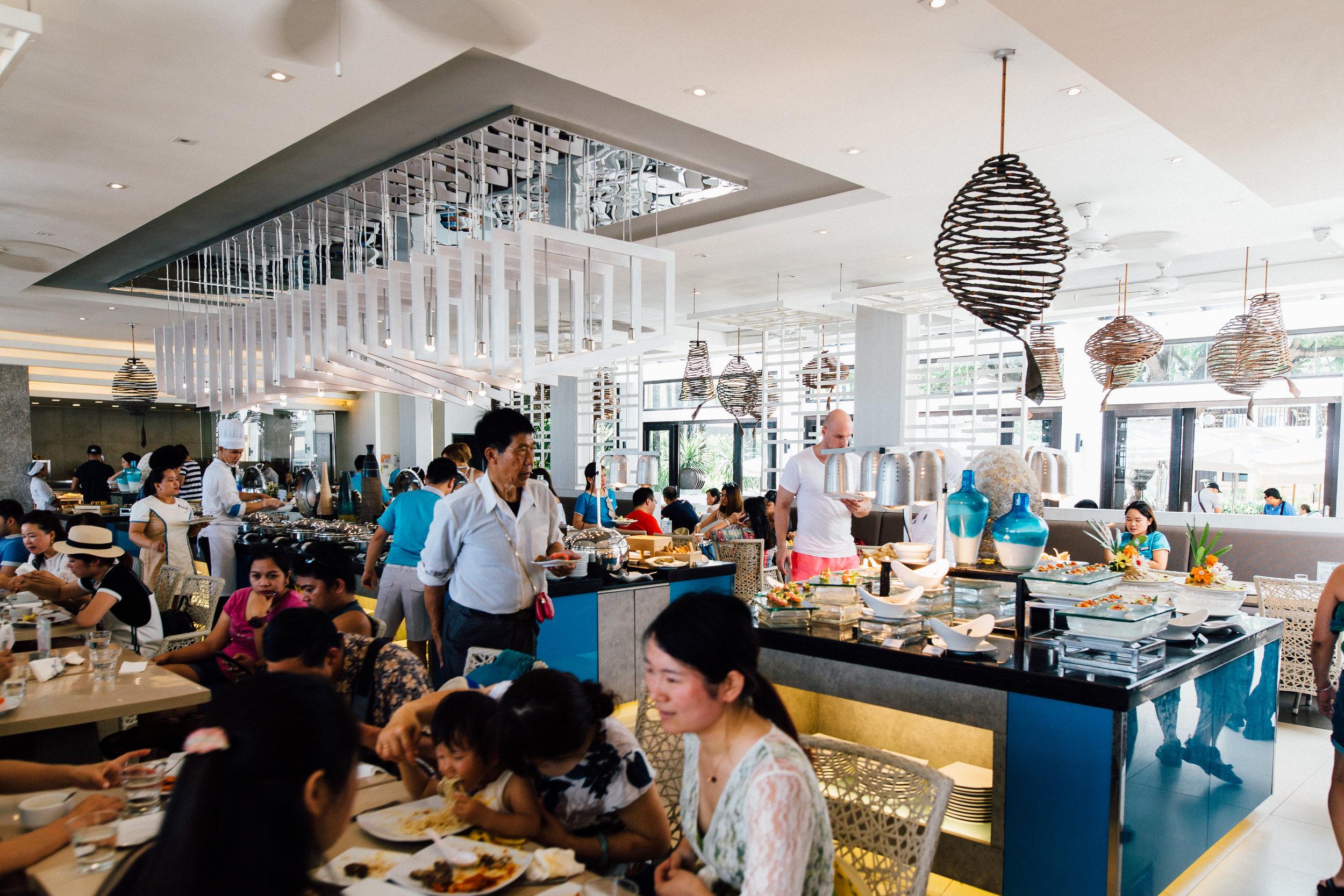 Sea Breeze Café , Hennan Regency's beachside cafe.