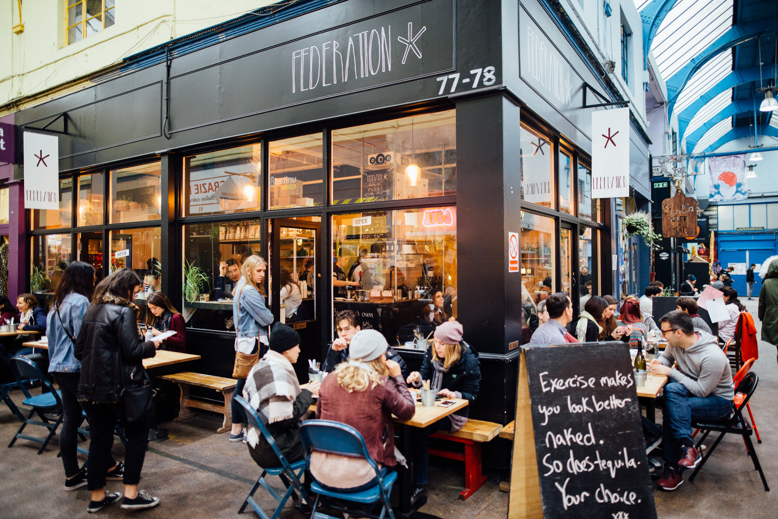 Federation Coffee, Brixton, London