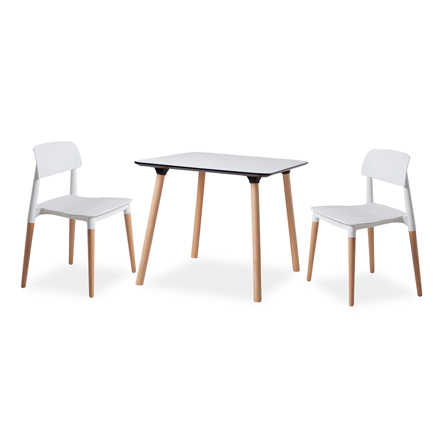 Enzo Table / Mim Chairs
