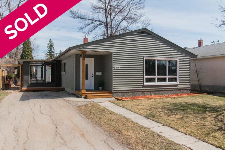 Sold - 463 Olive St - Winnipeg - St James