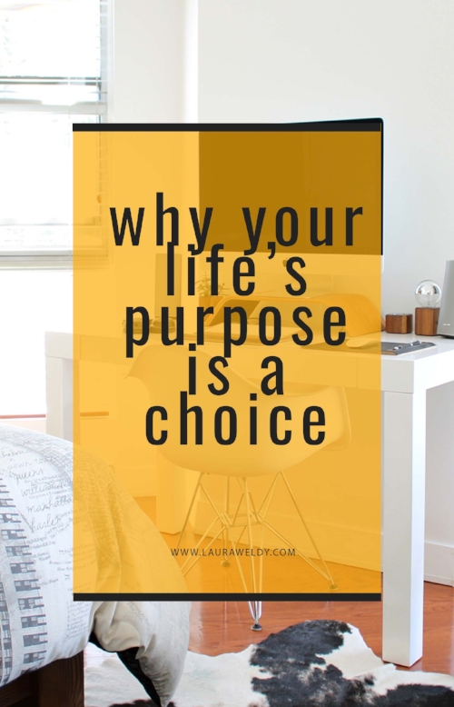 choosing your life's purpose