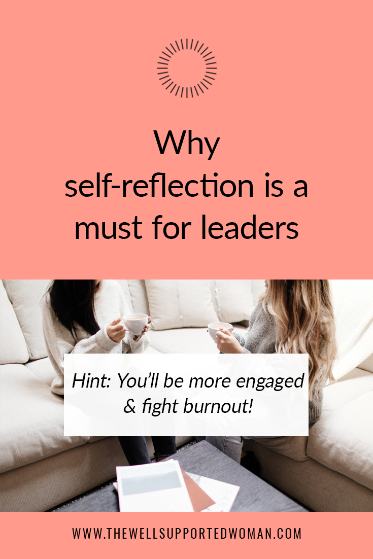 You need to prioritize self-reflection to be a better leader! Leaders often feel burnt out and stretched thin. Self-reflection has proven to be an effective tool to energize and engage leaders. Try these tips to feel more excited about your work and impact!
