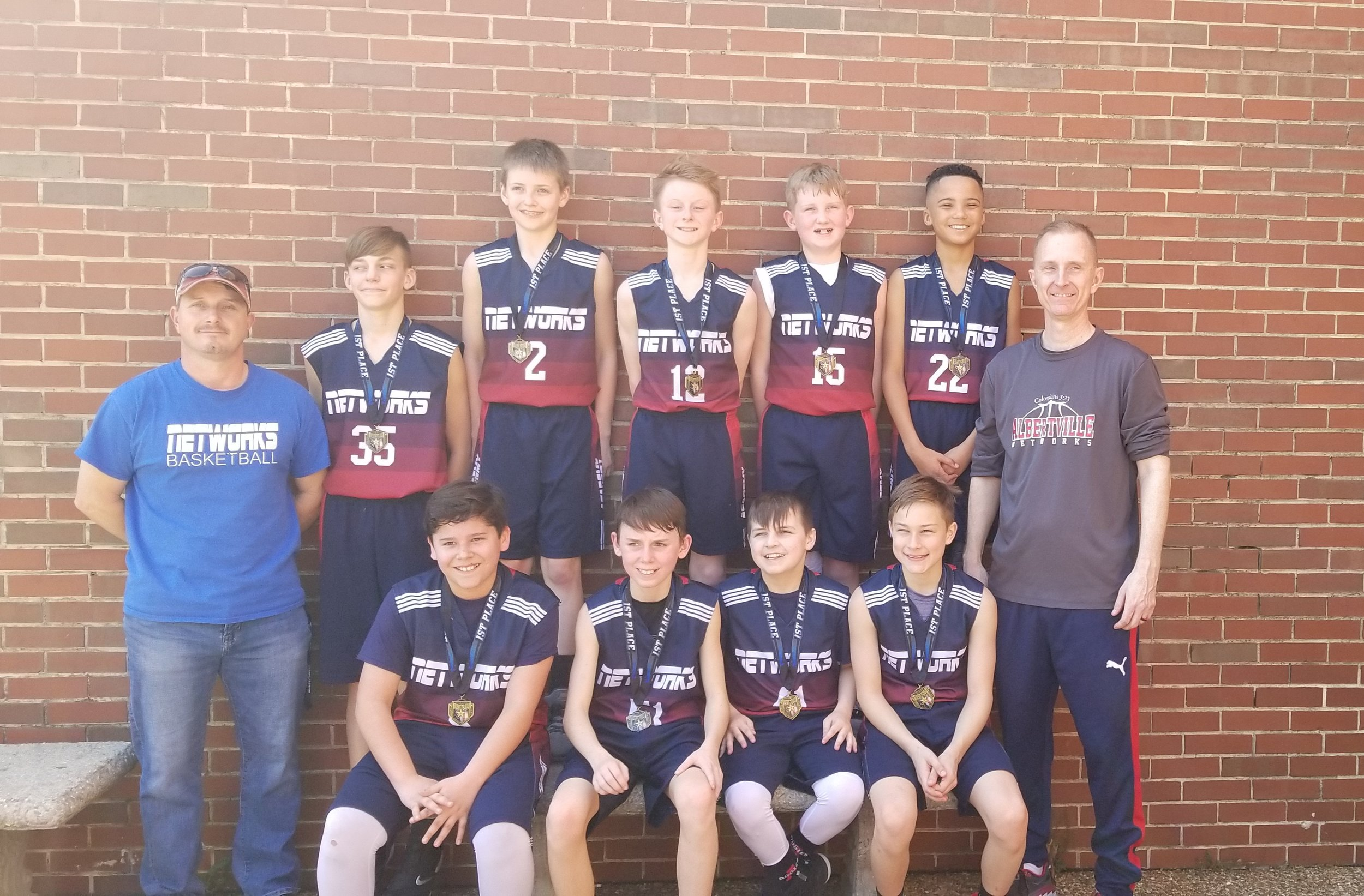 6th Grade Boys had a great spring season and won 2 tournaments.