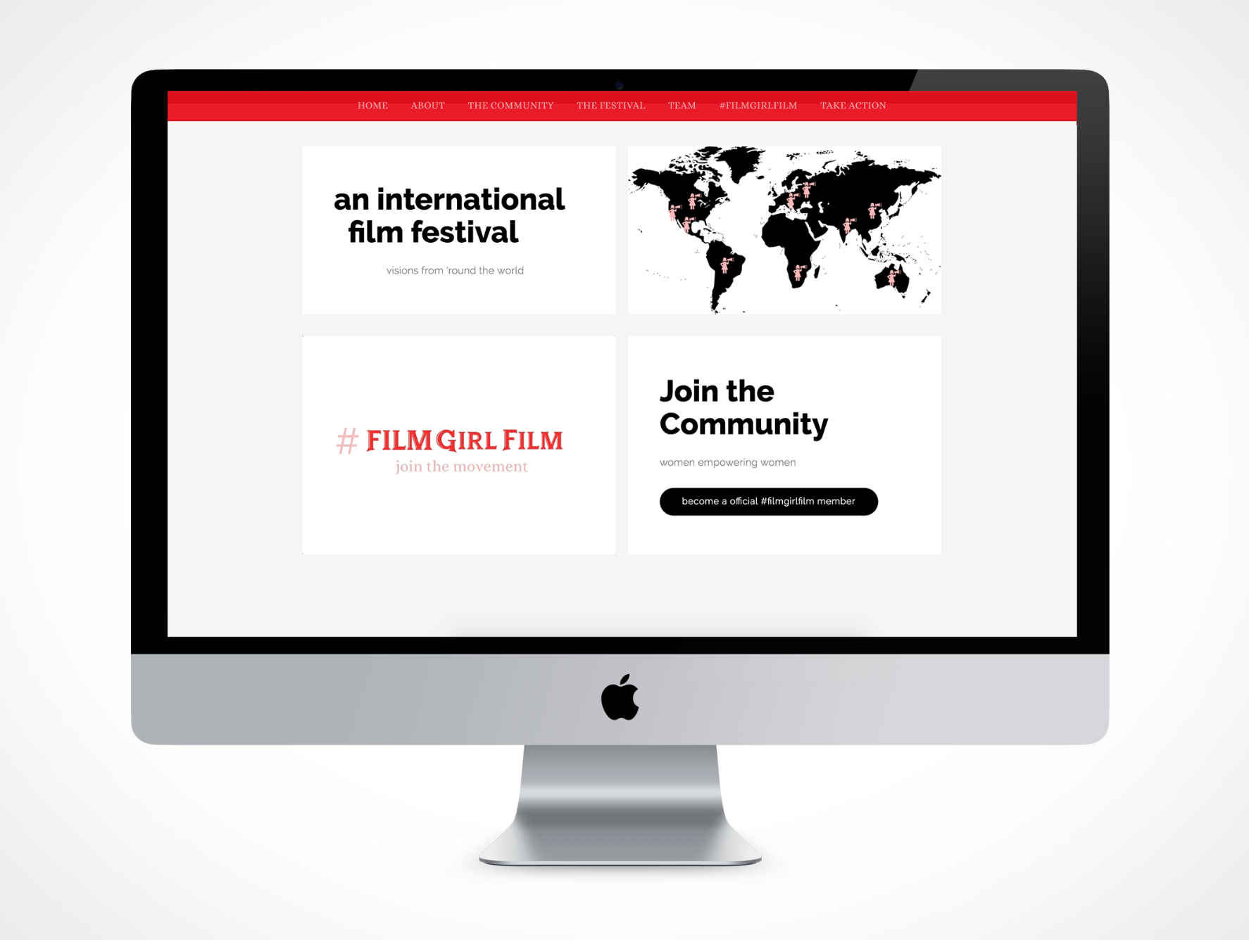 #FILMGIRLFILM PLATFORM Beyond a Website, AMovement was Born. - We created a digital strategy, a movement, a community for organic storytelling across media and ignited organizational leadership with a sustainable vision and branding message to attract national sponsors.