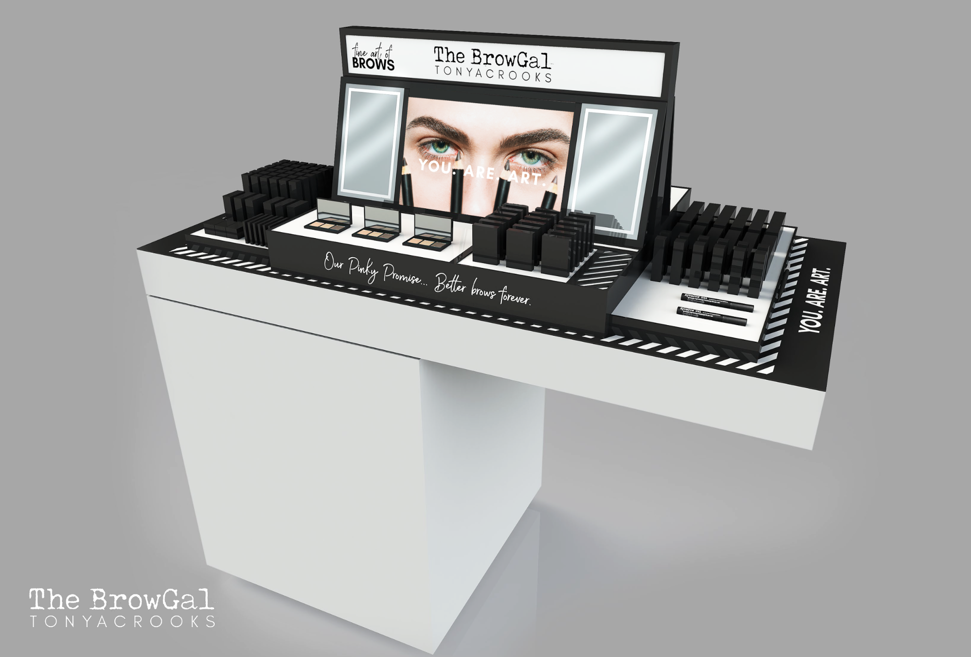 RE-BRANDING STORE DISPLAY - New Creative Direction in 3D Retail Experience