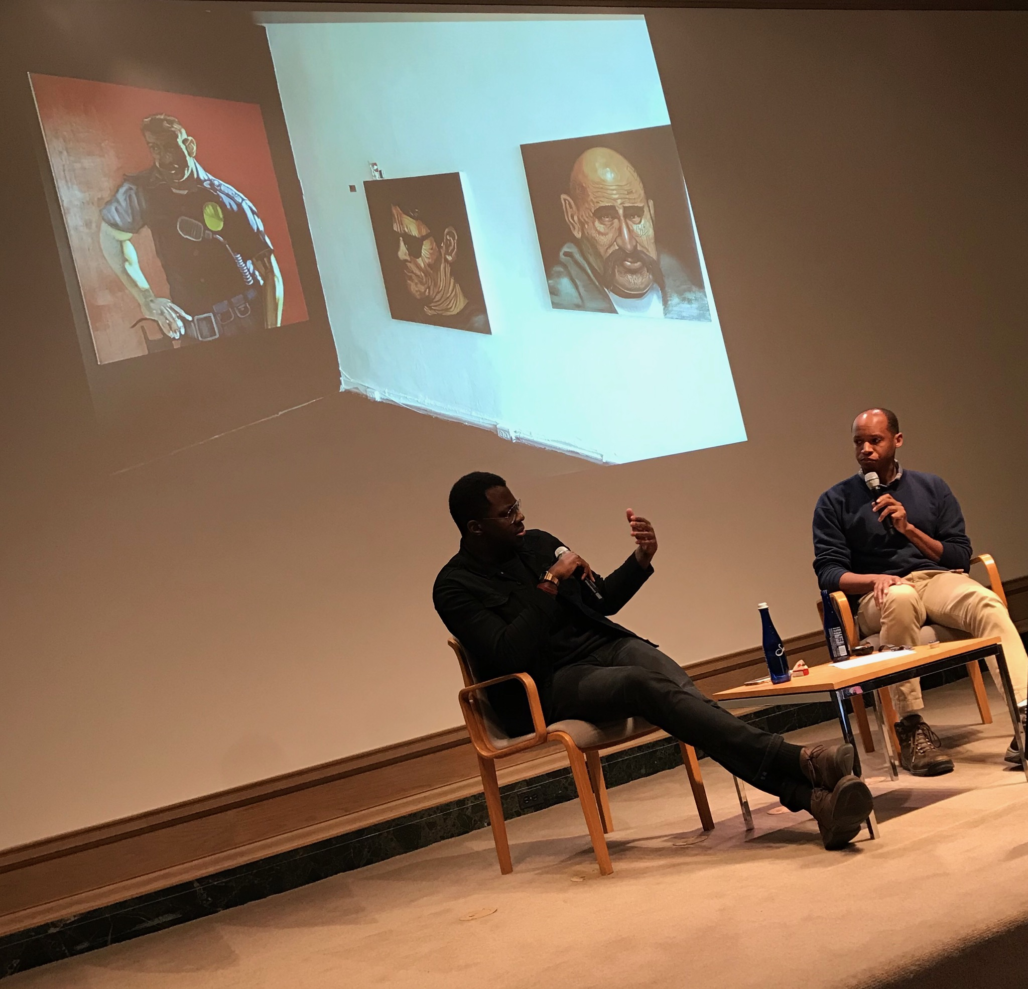 I See A Darkness  -  Works In Progress: Artist Talk  @ the National Gallery of Art, Washington DC, Feb 11, 2019. Moderated by Terence Washington