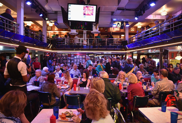 Inside Ellen's Stardust Diner, A Halfway House of Broadway Dreams  ,  Thrillist , November 2017