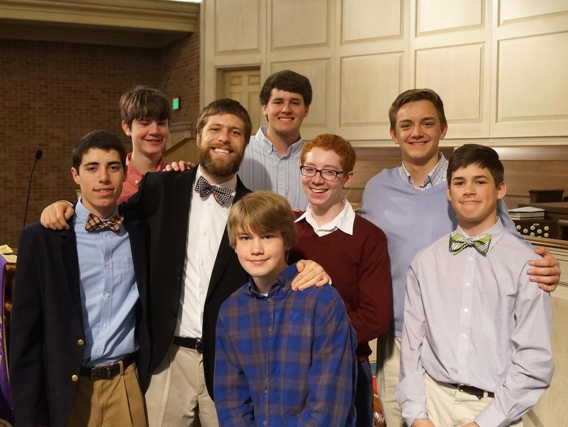 Youth Group w Joey.JPG