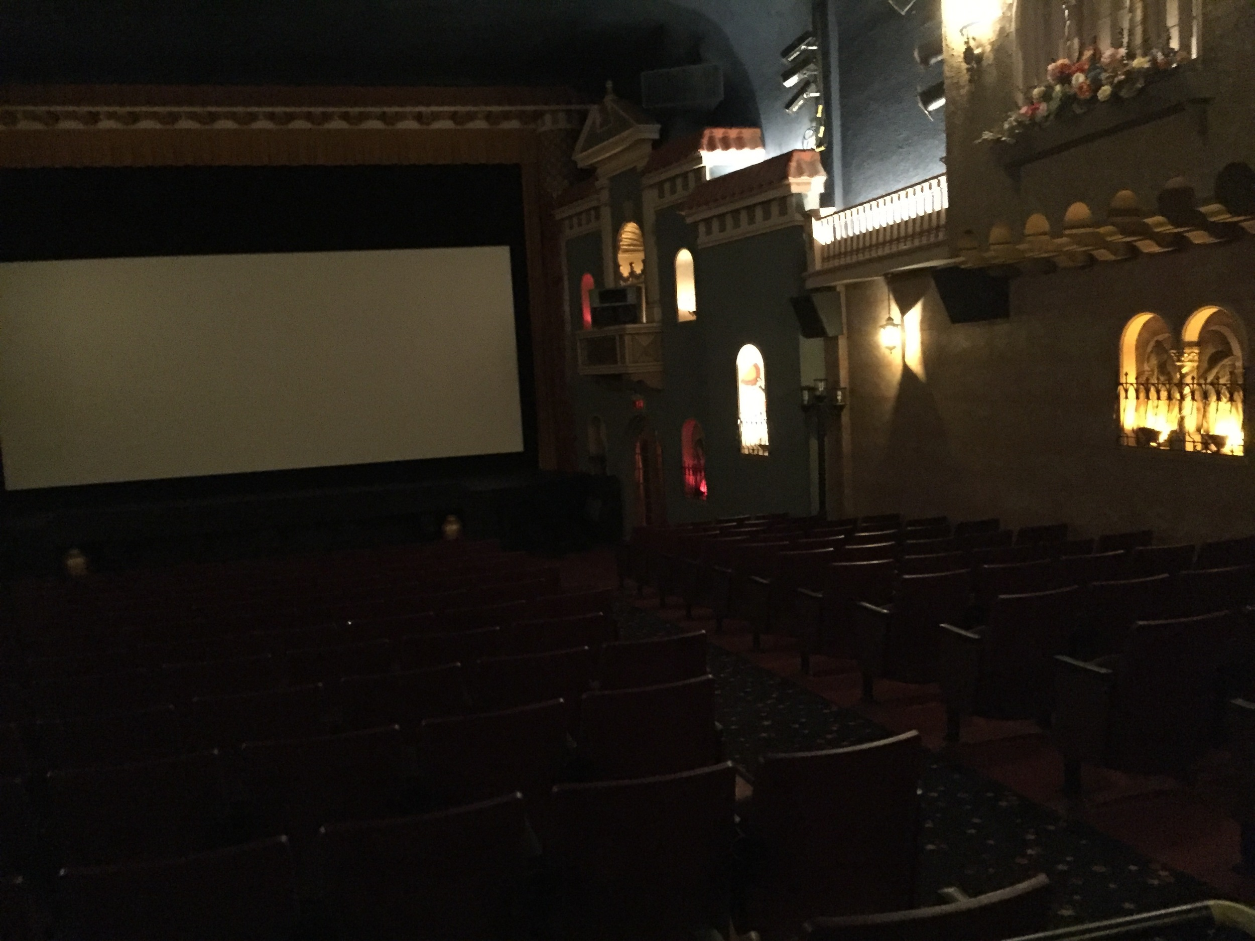 Interior of theatre...