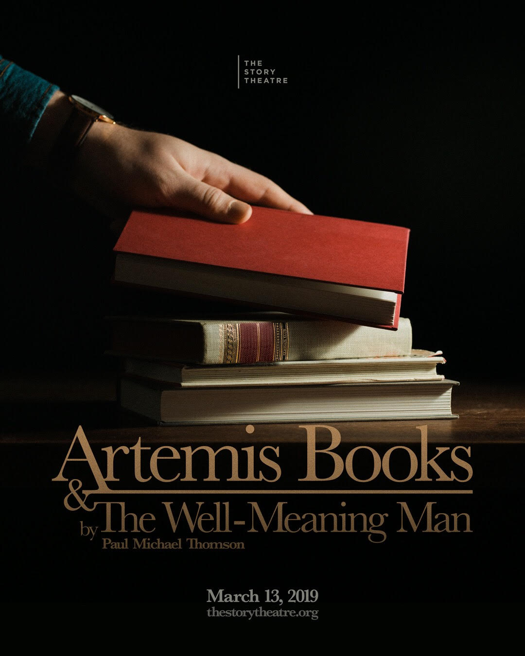 Artemis Books & the Well-Meaning Man , The Story Theatre