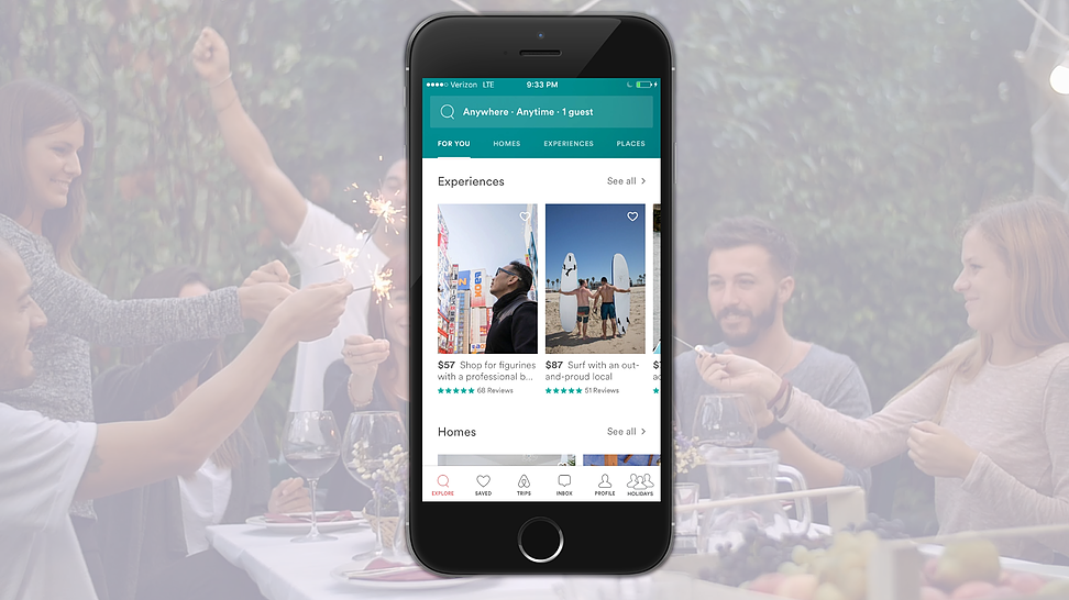 A new feature will be added to airbnb, where you sign up to host a holiday.