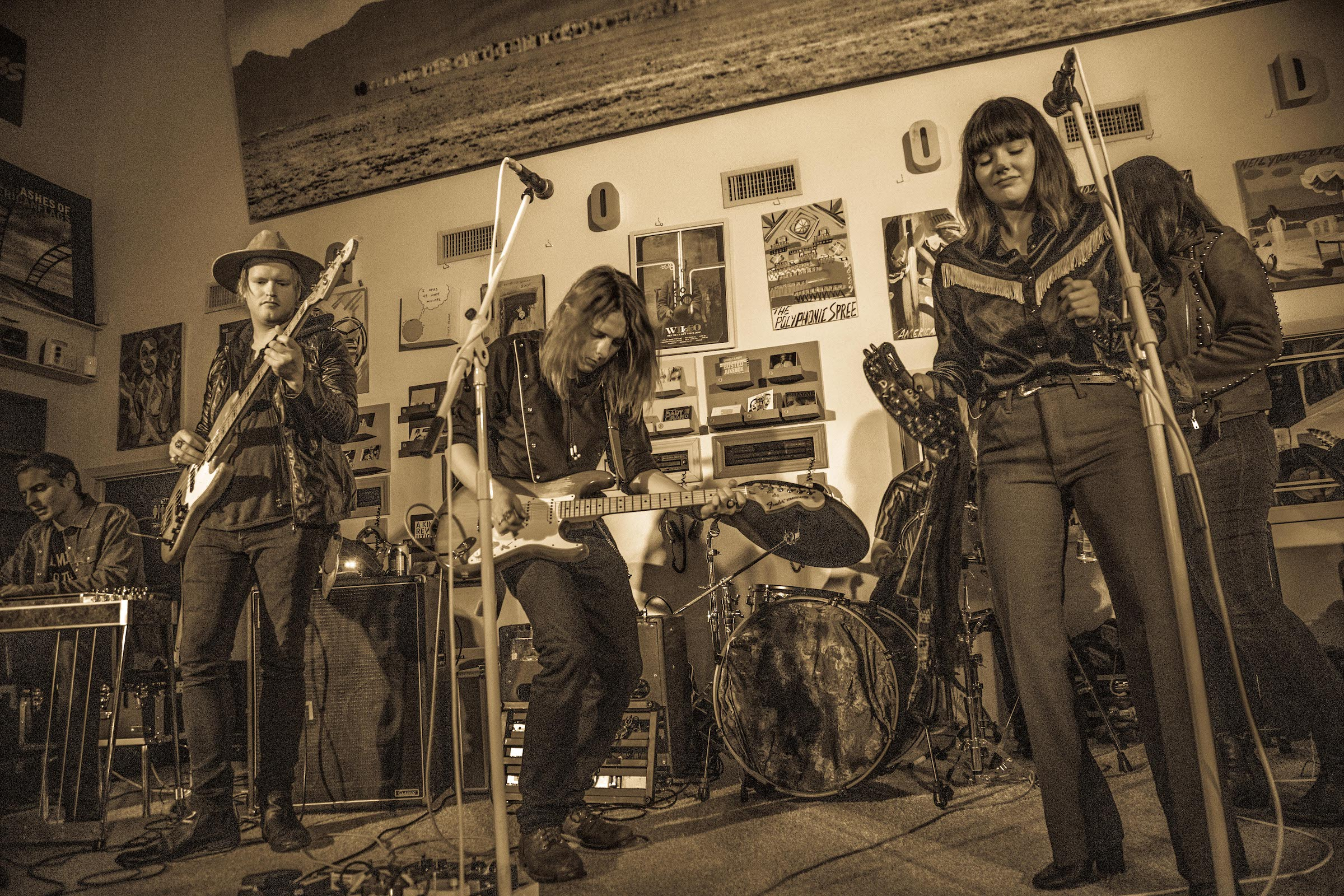 Charlie J Memphis and the Boneshakers playing the Neko Case after party at Sundown. photo:  Jay Simon