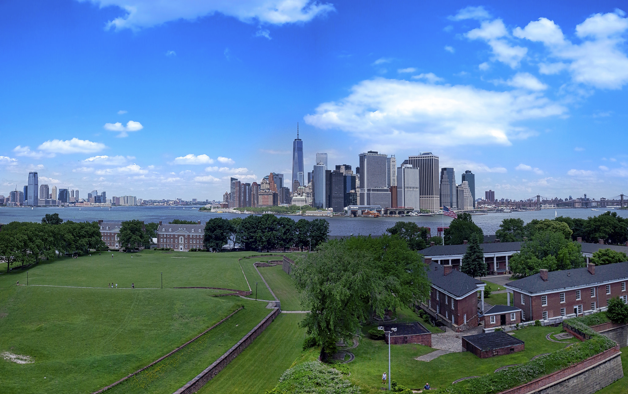View from Governor's Island,  photo  by Nestor Rivera Jr.