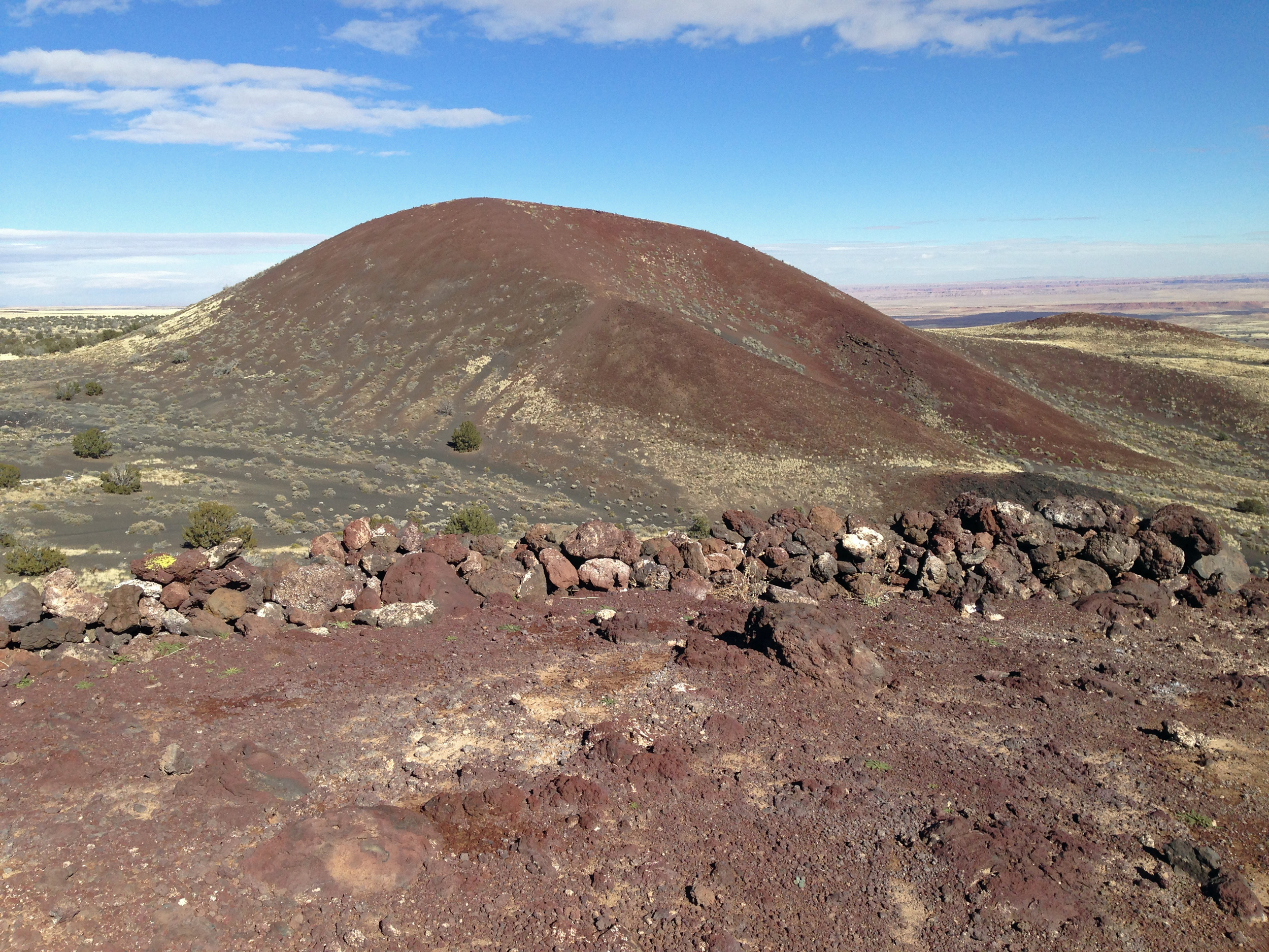 The Doney Crater, an easy hike with great views.  photo by Fredlyfish4 /  CC BY
