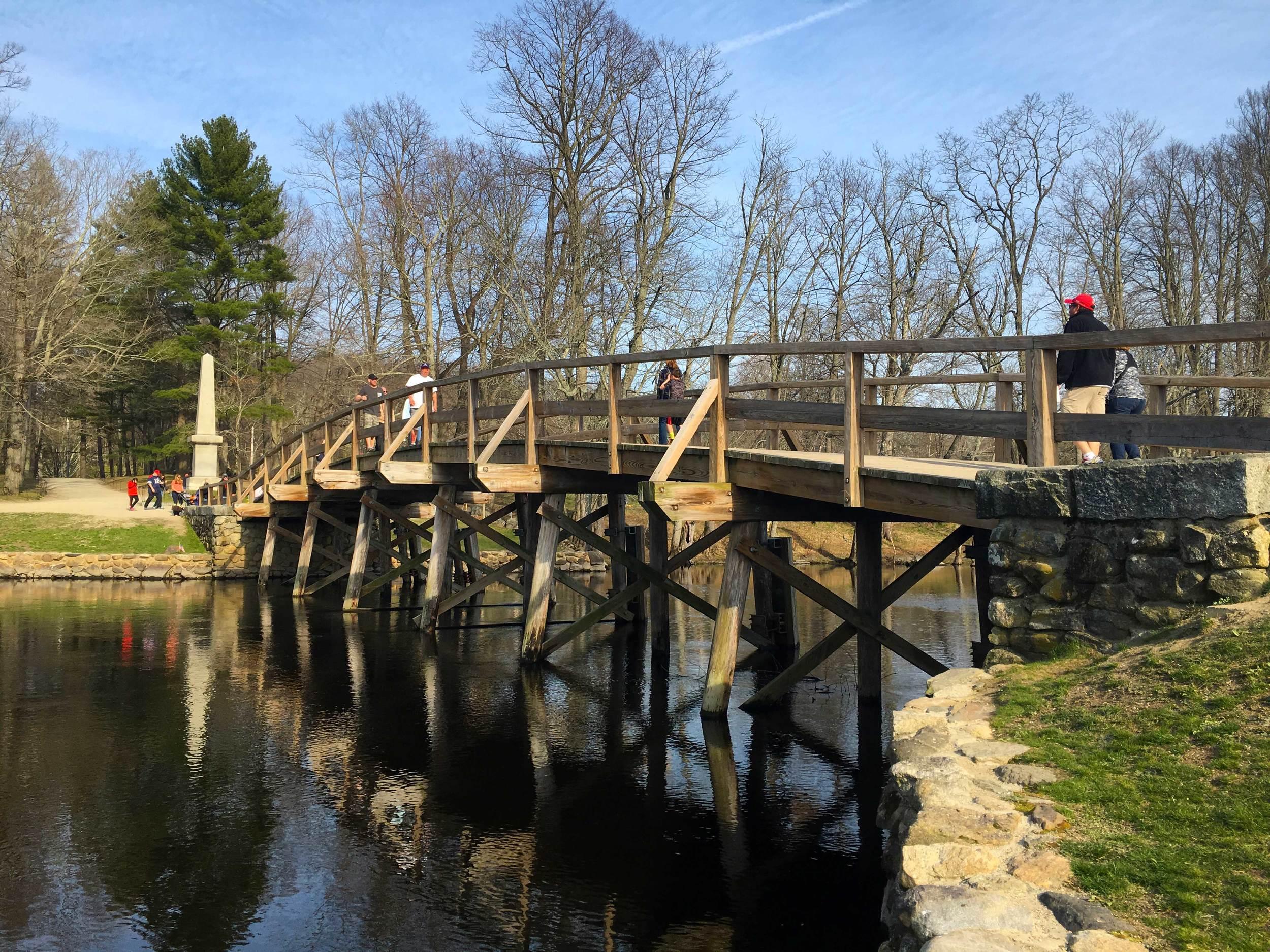 North Bridge, Minute Man National Historic Park, photo by Derek Wright.