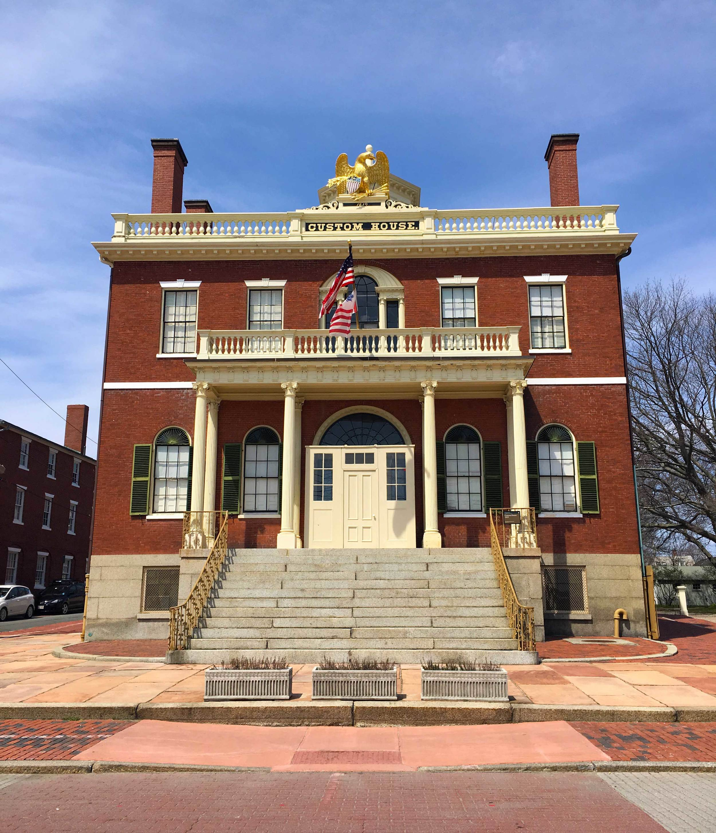 Custom House, Salem Maritime National Historic Site, photo by Derek Wright.