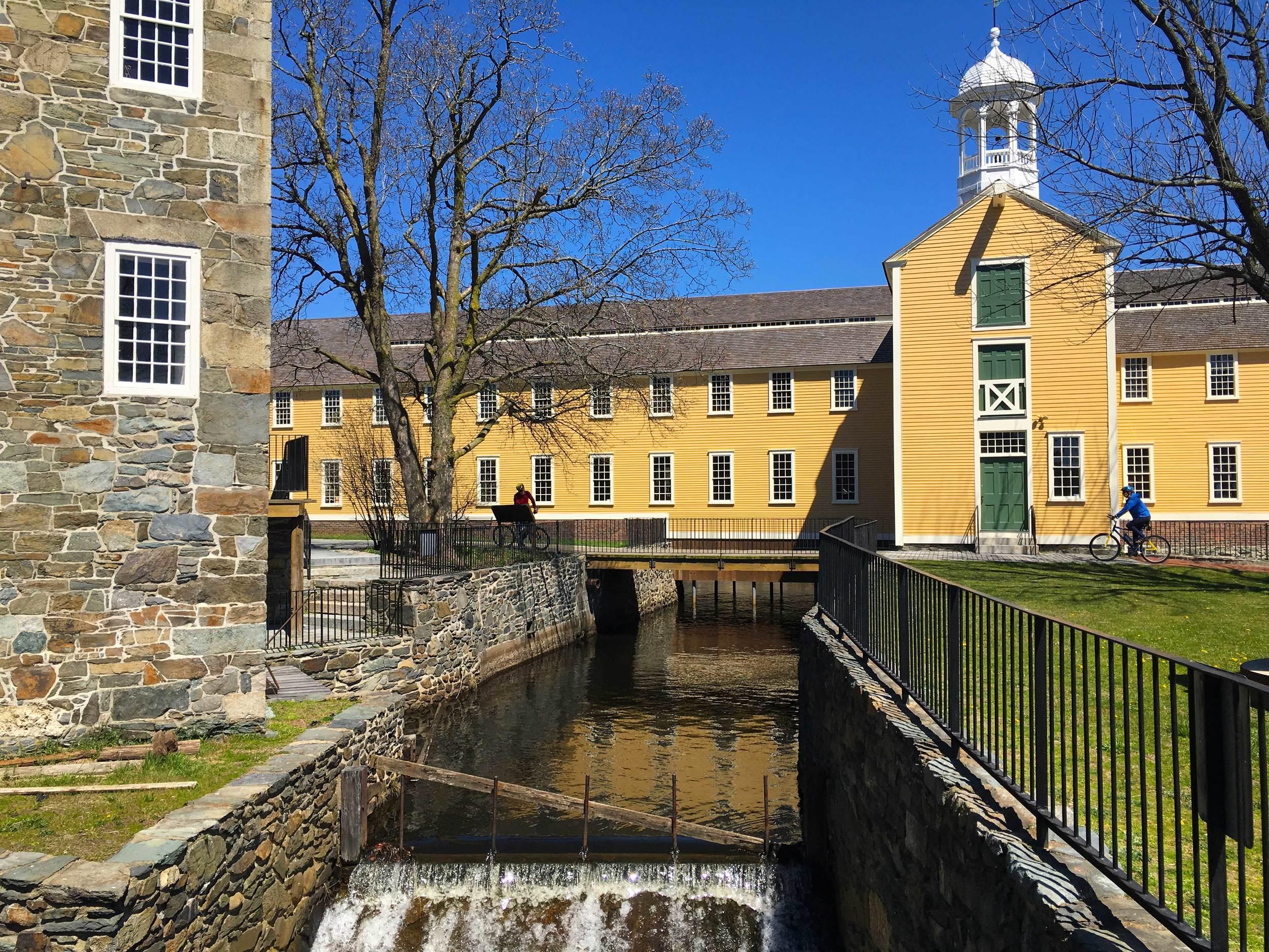 Wilkinson Mill, Blackstone River Valley National Historic Park, photo by Derek Wright.