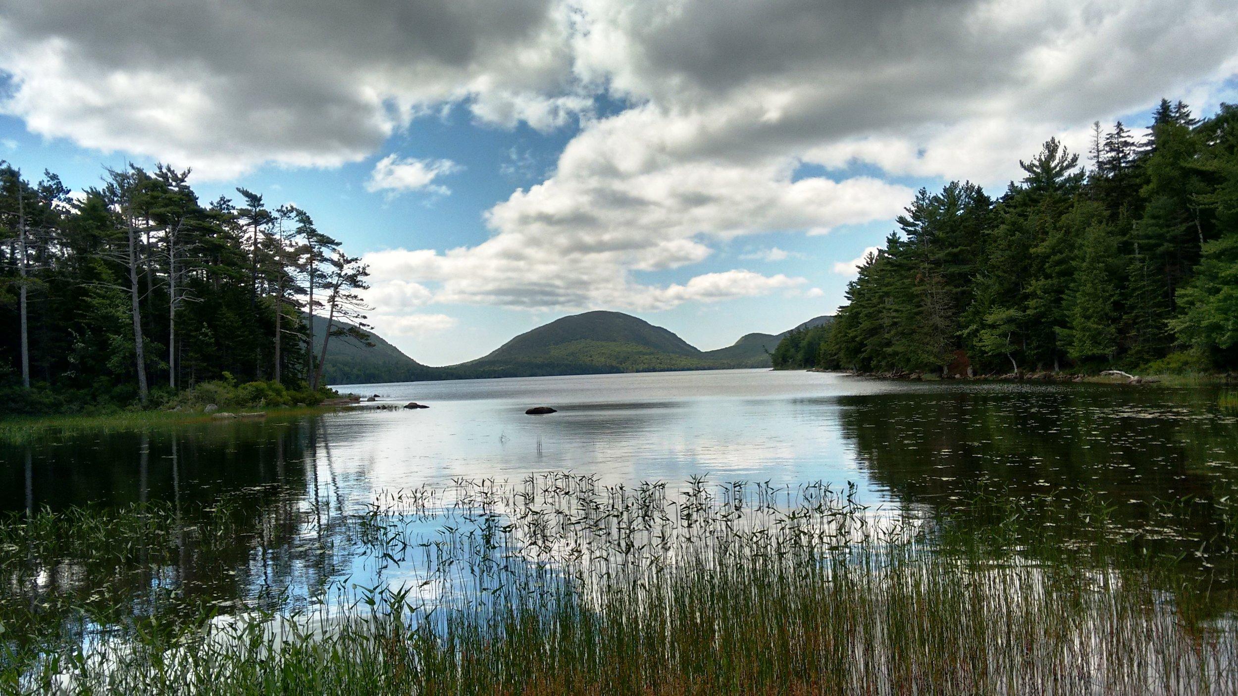 Jordan Lake,  Acadia National Park.