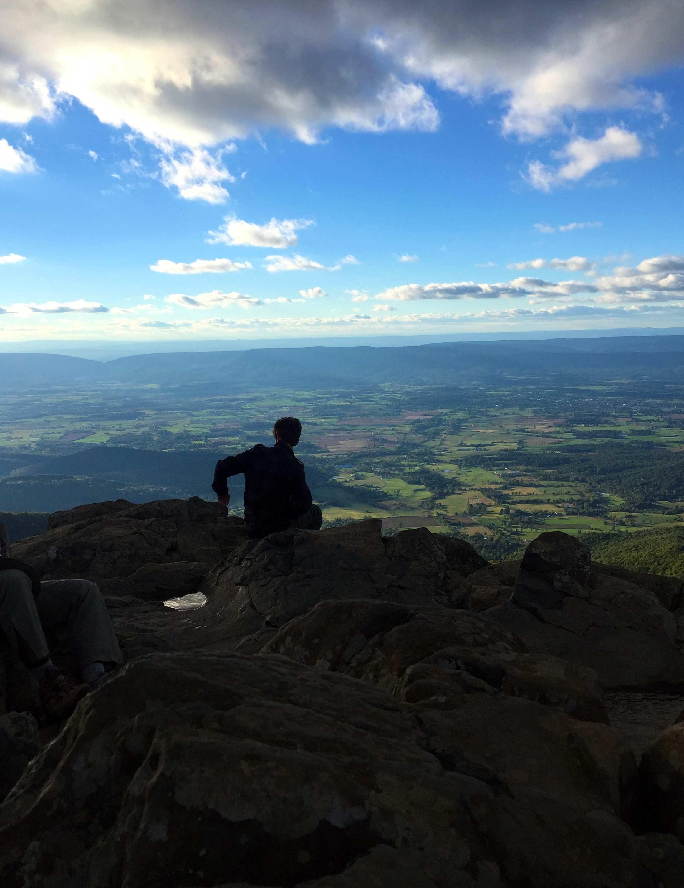 One vantage from the Stony Man summit.